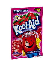 Kool-Aid Strawberry Unsweetened Drink Mix 0.14 oz. Packet
