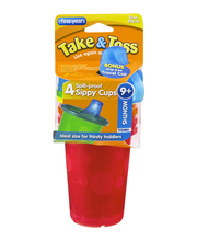 The First Years Take & Toss Spill-Proof Sippy Cups 9+ Months ...