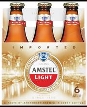 Amstel® Light Lager Beer 6-12 fl. oz. Bottle