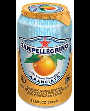 Sanpellegrino® Aranciata Sparkling Orange Beverage 11.15 fl. ...