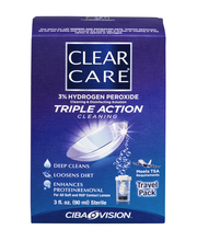 Clear Care Cleaning & Disinfecting Solution Triple Action Cle...