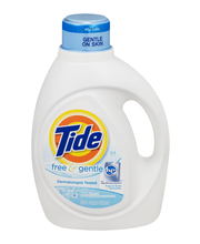 Tide® Free & Gentle Liquid Laundry Detergent 64 Load 100 fl. ...
