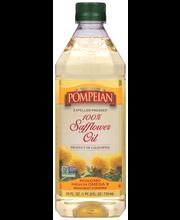 Pompeian® 100% Expeller Pressed Safflower Oil 24 fl. oz. Bottle