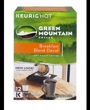 Green Mountain Coffee® Breakfast Blend Decaf Coffee K-Cup® Pa...