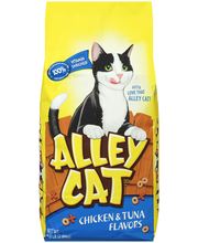 Alley Cat® Brand Cat Food Chicken & Tuna Flavors 6.3 lb. Bag