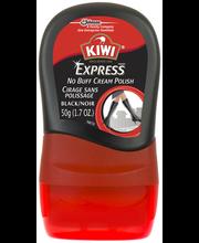 KIWI® Express™ No Buff Cream Shoe Polish Black 1.7 oz. Bottle