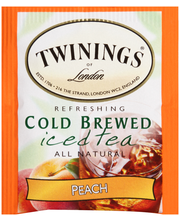 Twinings of London® Refreshing Cold Brewed Iced Peach Tea 20 ...