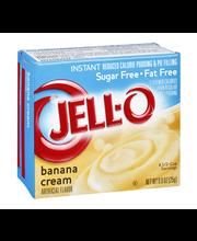 Jell-O® Sugar Free Fat Free Banana Cream Instant Reduced Calo...