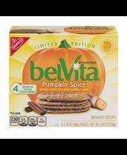 belVita Limited Edition Pumpkin Spice Breakfast Biscuits 5-1....