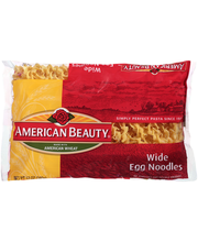 American Beauty® Wide Egg Noodles 12 oz. Package