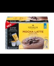 Gevalia Mocha Latte Espresso K-Cup® Pods & Latte Froth Packet...