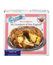 My Grandma's of New England Coffee Cake without Walnuts New E...
