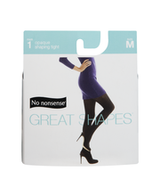 No Nonsense Great Shapes Tight Black Opaque Size M
