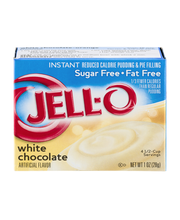 Jell-O® Sugar Free Fat Free White Chocolate Instant Reduced C...