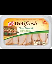 Oscar Mayer Deli Fresh Oven Roasted Turkey Breast 9 oz. Tub