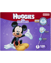 Huggies® Little Movers® Size 3 Diapers 128 ct Box