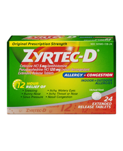 Zyrtec-D® Extended Release Tablets (June 2010) Allergy & Cong...