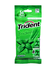 Trident Spearmint Sugar Free Gum with Xylitol 3-18 Stick Packs