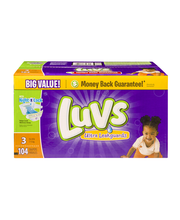 Luvs® Ultra Leakguards™ Size 3 Diapers 104 ct Box