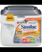 Similac Pro-Sensitive™ OptiGRO™ Infant Formula with Iron 22.5...
