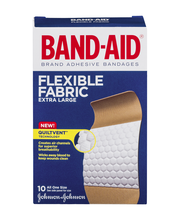 Band-Aid® Brand Flexible Fabric Extra Large All One Size Adhe...