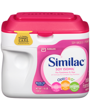 Similac® Soy Isomil® Infant Formula with Iron Birth to 12 Mon...