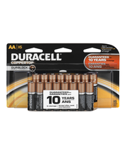 Duracell Coppertop Alkaline Batteries AA - 16 CT
