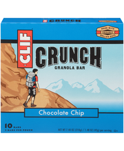CLIF Crunch® Chocolate Chip Granola Bars 5-1.48 oz. Pouches
