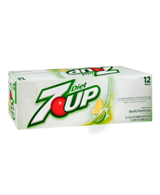Diet 7 UP® Lemon Lime Flavored Soda 12-12 fl. oz. Cans