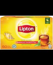 Lipton™ 100% Natural Tea Bags 50 ct Box