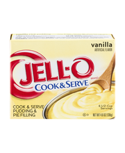 Jell-O® Vanilla Cook & Serve Pudding & Pie Filling Mix 4.6 oz...