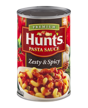 Hunts® Pasta Sauce Zesty & Spicy 24 oz.
