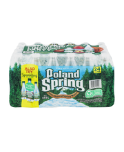 POLAND SPRING Brand 100% Natural Spring Water, 16.9-ounce pla...