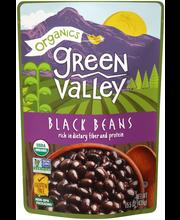 Green Valley® Organics Black Beans 15.5 oz. Pouch