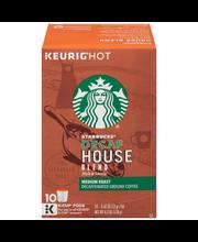 Starbucks® Decaf House Blend Medium Roast Ground Coffee 10 ct...