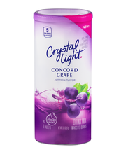 Crystal Light Concord Grape Drink Mix 6 ct Canister