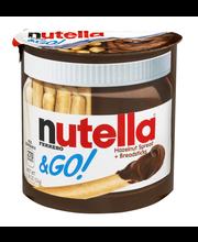 Nutella®& Go! Hazelnut Spread + Breadsticks 1.8 oz. Container
