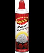 Darigold® Light Sweetened Whipped Cream 14 oz. Can