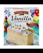 Pepperidge Farm® Confetti Vanilla Layer Cake 19.6 oz. Box