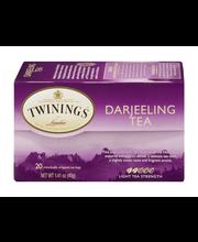 Twinings of London® Darjeeling 20 ct Tea Bags 1.41 oz. Box