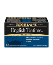 Bigelow® English Teatime® Black Tea Blend 20 ct Box