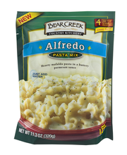 Bear Creek Alfredo Pasta Mix 11.3 Oz Stand Up Bag