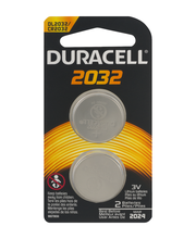 Duracell Coin Button 2032 Lithium Battery 2 ct Blister