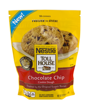 Nestle TOLL HOUSE Frozen Chocolate Chip Cookie Dough 18 oz.