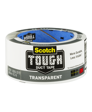 Scotch Tough Transparent Duct Tape Roll