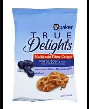 Quaker® Popped® Wild Blueberry Sweet Oat Crisps 3.5 oz. Bag