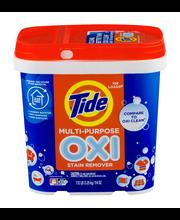 Tide® OXI Multi Purpose Stain Remover 108 Load 114 oz. Pail