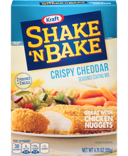 Kraft Shake 'n Bake Crispy Cheddar Seasoned Coating Mix 4.75 ...
