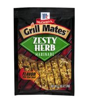 McCormick® Grill Mates® Zesty Herb Marinade 1.06 oz. Packet