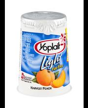 Yoplait® Light Fat Free Yogurt Harvest Peach 6.0 oz Cup
